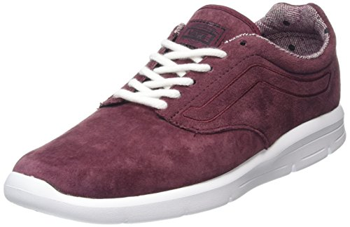 Vans Unisex-Erwachsene Iso 1.5 Low-Top, Rot (Tweed Dots Burgundy/True White), 40 EU