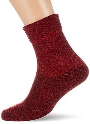 FALKE unisex adult Walkie Ergo trekking hiking socks, Red (Scarlet 8280), US 6.5-8.5 EU 39-41 UK 5.5-7.5