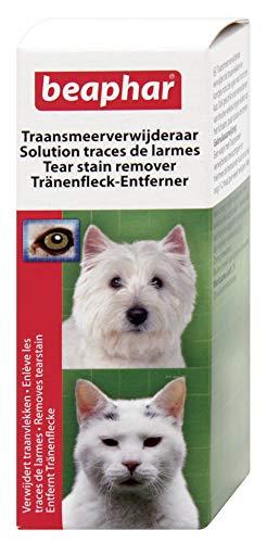 Beaphar - Solution contre les traces de larmes, soin des yeux - chien et chat - 50 ml