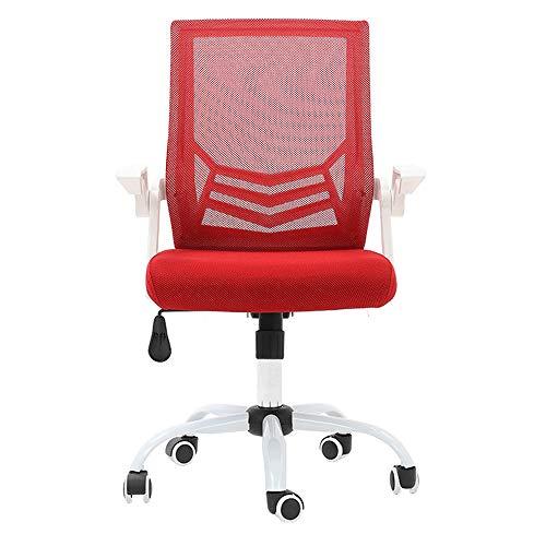 PIG-GIRL Office Chair,Computer Chair,Modern Minimalist Mesh Chair,Domestic Lazy Seat,Ergonomic Lift Swivel Chair,A