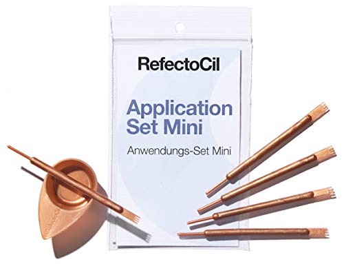 Mini Anwendungs-Set Rose Gold Refectocil Application Set 5 Schalen 5 Applikatoren