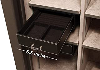 Liberty Safe - Velvet Jewelry Drawer Organizer for Gun Safes - Fits Safe Models 23+ and Safes 30
