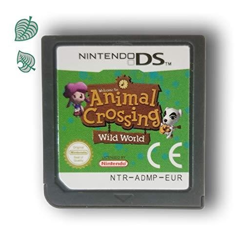 Animal Crossing Wild World Spielkarte für DS / DSi / 3DS XL