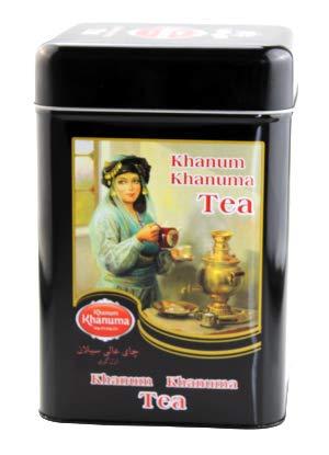 Khanum-Khanuma Earl Grey große Dose - hochwertiger Schwarzer Tee lose 500 Gramm - Schwarztee mit Bergamotte Aroma