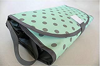 3 in 1 Foldable Travel Diaper Changing Pad Waterproof Baby Changing Mat Bag