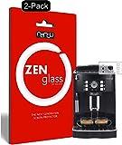 ZenGlass Nandu I (2 Unidades) Protector de Vidrio Flexible Compatible con DeLonghi Magnifica S ECAM...