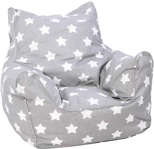 KNORRTOYS.COM 68211 Knorrtoys 68211-Kindersitzsack-Stars White Kindersitzsack