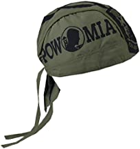 Hot Leathers HWH1021 POW Head Wrap (Military Green)