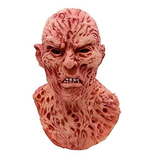 XINRUIBO Máscara de Halloween Máscaras de Terror Realista del Partido del Traje Adulto de Lujo de Halloween máscara de Miedo Carnival Prop máscaras de Halloween (Color : 1)