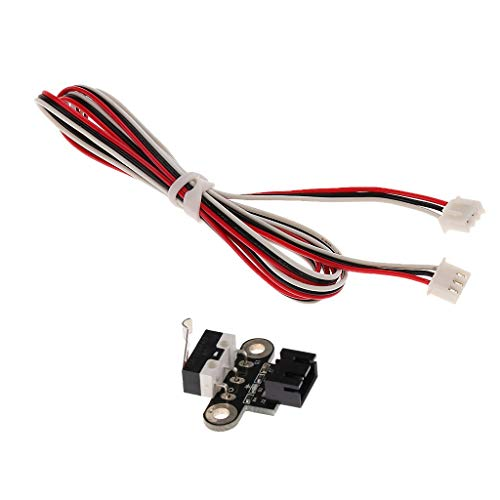 DONDOW Impresora Tope Final mecánico límite Sin Interruptor con el Cable for Impresora 3D