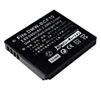 【JC】 Panasonic/パナソニック DMW-BCF10 互換バッテリー DMC-FT3 DMC-FT4 対応