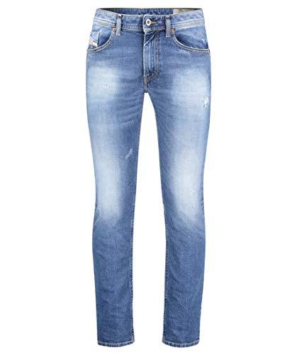 Diesel Herren Thommer Jeans, Stoned Blue, 33W / 32L