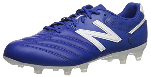 New Balance Men's 442 Firm Ground V1 Soccer Shoe, Royal/White, 10 Wide