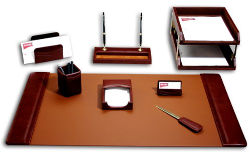 Dacasso Schreibtisch-Set, Mokka, 10-TLG.