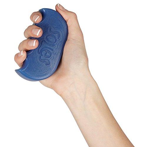 Soles, Hand und Fingertrainer für maximale Stärke und Rehabilitation, Medium SLS521B, Blau
