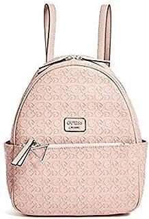 GUESS Factory Women's Larson Embossed Logo Backpack - Rose