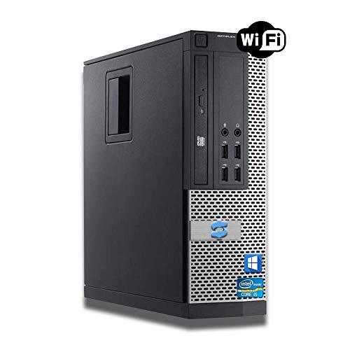 Dell OptiPlex Intel i5-2400 Quad Core i5 8GB RAM 240GB SSD + 500GB HDD WiFi Windows 10 Desktop PC Computer (Renewed)