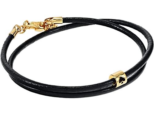 Kate Spade New York Wrapped Up Wrap Bracelet Black One Size