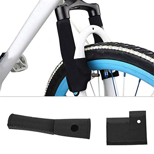 Winwinfly 1 Pair Bicycle Front Fork Protective Pad Mountain Bike Fork Cover Protector Bicycle Accessories