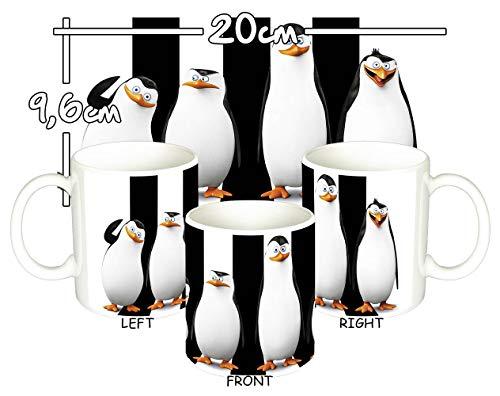 Los Pinguinos De Madagascar Penguins of Madagascar Taza Mug