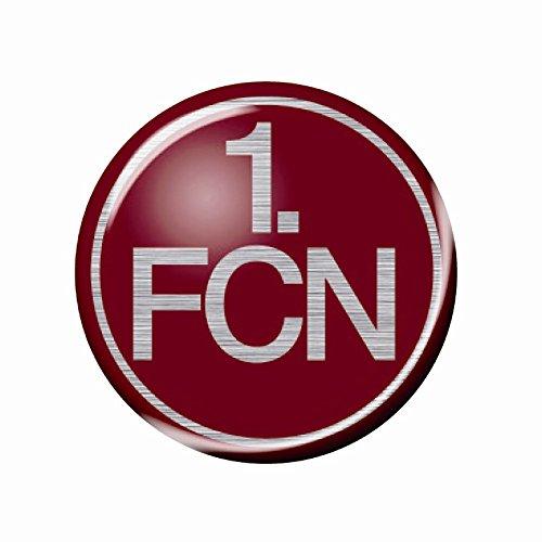 3D LOGO FAHRZEUGAUFKLEBER AUFKLEBER 1. FC NÜRNBERG 1. FCN Color