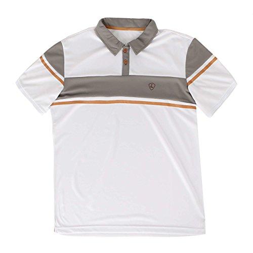 Limited Sports Oberbekleidung Polo Camiseta Peer Blanco Blanco Talla:Medium