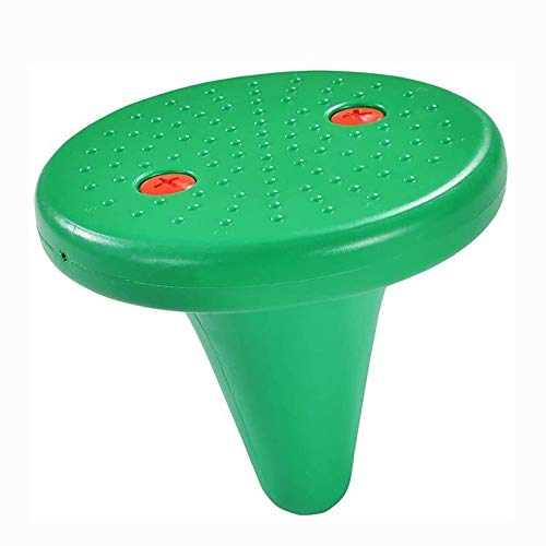 JKLL Balance Teller, Kindergarten Balance Board Kind Fitness Sense-Trainingsgeräte Lernspielzeug Rund Spitze (One Foot Hocker), Gelb (Color : C)