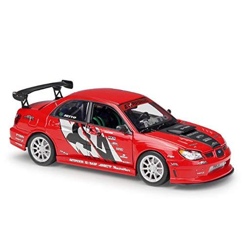 THKZH Die Cast Car Decoration 1/24 Boy Toy Die-Casts Modello di Auto Veicolo da Collezione Regalo per Bambini Auto Statiche Auto di FAMA Mondiale Modello di Auto per Adulti
