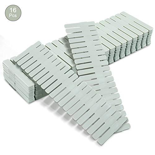 mreechan divisori per cassetti, divisori per griglia a cassetto, plastica, Organizer per...