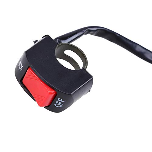 Neue Universal-Kill-Knopf Lenkerschalter Scheinwerfer-Nebel-Punkt-Licht EIN Aus Schalter Dirt Pit Bike for Honda Yamaha Suzuki Kawasaki