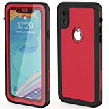 iphone XR waterproof case | iphone XR waterproof phone case | Built-in screen protector | dust-proof Shock-proof...
