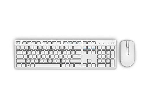 Dell KM636, Wireless, Tastatur und Maus Set, German (QWERTZ), weiß
