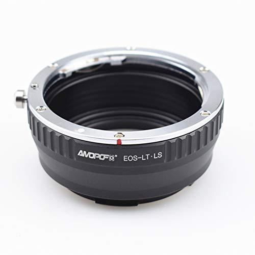 Adaptador de objetivo EOS to LT.LS, para objetivo Canon EOS EF EF-S compatible con cámaras Leica-L T, tipo 701, TL,TL2, CL (2017), SL,Typ601, S1/S1R/S1H.
