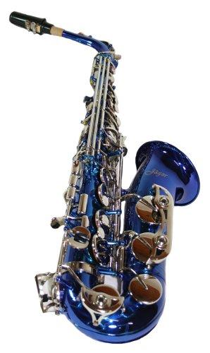 Cherrystone 4260180884746 Alt Saxophon Eb mit ABS Koffer/Zubehör blau