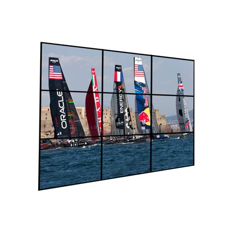 Videowall 3x3 Wandhalterung (9 Monitor)