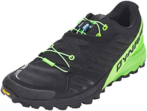 Dynafit Alpine Pro Zapatillas de trail running para hombre, hombre, 64028-0963-115, black/dna green, 45