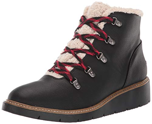 Dr. Scholl's Shoes womens So Cozy Bootie Ankle Boot, Black, 8.5 US