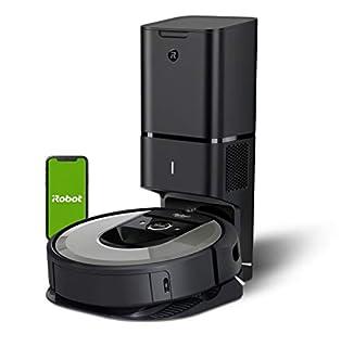 iRobot Roomba i7+ (i7556) Saugroboter, automatische Absaugstation, intelligente Raumerfassung, Zeitplanreinigung, 2 Multibodenbürsten, WLAN Staubsauger Roboter, App-Steuerung, Ideal für Tierhaare (B07V9LD1HZ) | Amazon price tracker / tracking, Amazon price history charts, Amazon price watches, Amazon price drop alerts