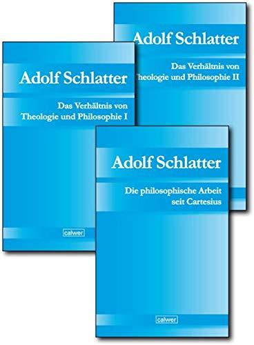 Kombi-Paket: Adolf Schlatter - Philosophie