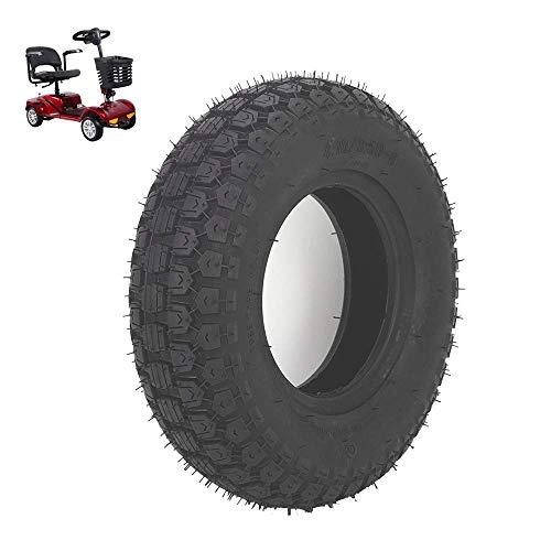 Neumáticos scooter movilidad, neumáticos carretera campo traviesa 4.10/3.50-6, neumáticos neumáticos antideslizantes resistentes al desgaste, compatible con la modificación scooter para ancianos 6 p