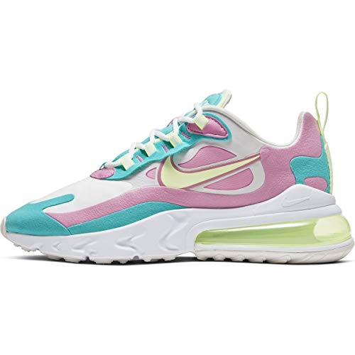 Nike Women's bass and Slip-on Running Shoe (White/Barely Volt/Platinum Tint, Numeric_6_Point_5)