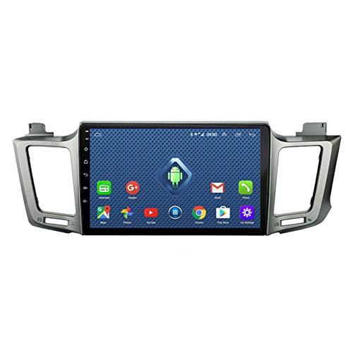 Android 10.0 Radio Stereo Coche Navegación GPS 9 Pulgadas 2.5D HD Pantalla Táctil Ser Aplicable para Toyota RAV4 (2013-2018) Apoyo Manos Libres WiFi 4G FM Am SWC DSP USB 1080P BT 2G+32G