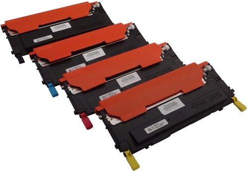 4 Bubprint Toner kompatibel für Samsung CLT-P4092C/ELS für CLP-310 CLP-310N CLP-315 CLP-315N CLP-315W CLX-3170FN CLX-3170N CLX-3175 CLX-3175FN CLX-3175FW CLX-3175N