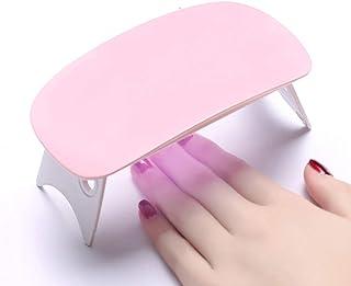 CJF Mini pequeño portátil de uñas ratón fototerapia Secado Hornear pequeña lámpara LED Instrumento