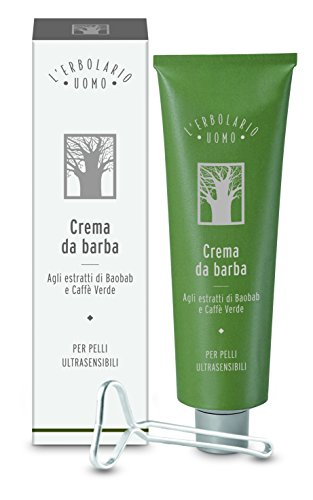 L 'erbolario Uomo Crema Da Barba Per ultrasensible della pelle, 1er Pack (1X 150ML)