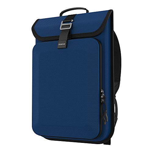 Smatree Business Laptop Rucksack, Hardcase für MacBook Pro 13-16 Zoll oder Surface Pro X/7/6 Laptop/Acer Aspire 5-Blau