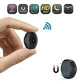 Mini Hidden Spy Camera, 1080P HD WiFi Wireless Security Camera, Portable Small Remote