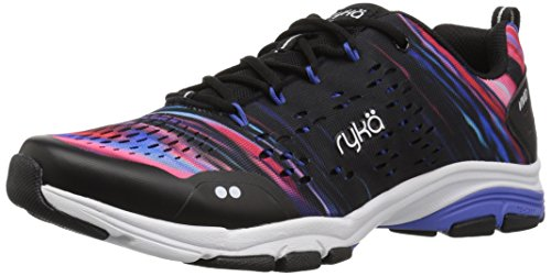 Ryka Women's Vivid RZX Cross Trainer, Black/Multi, 7 W US
