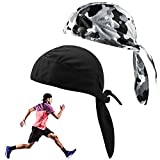 Gorra deportiva para ciclismo que absorbe el sudor, gorro de ciclismo de secado rápido, gorro ajustable, bandana con...
