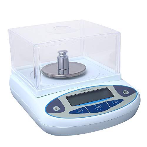 ETE ETMATE Hochpräzise Laborpräzisions-Waage 1 mg / 0,001 g Digitale Präzisionswaage Max. Gewicht 500g